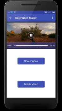 Slow Motion Video Maker apk screenshot