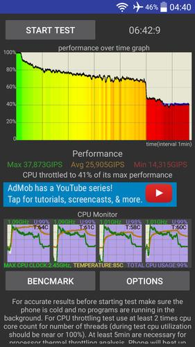 CPU Throttling Test for Android - APK Download