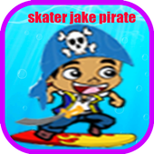 skater jake pirate adventure icon