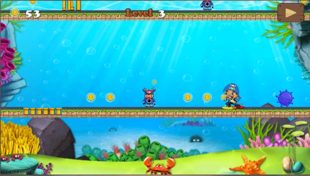 skater jake pirate adventure apk screenshot