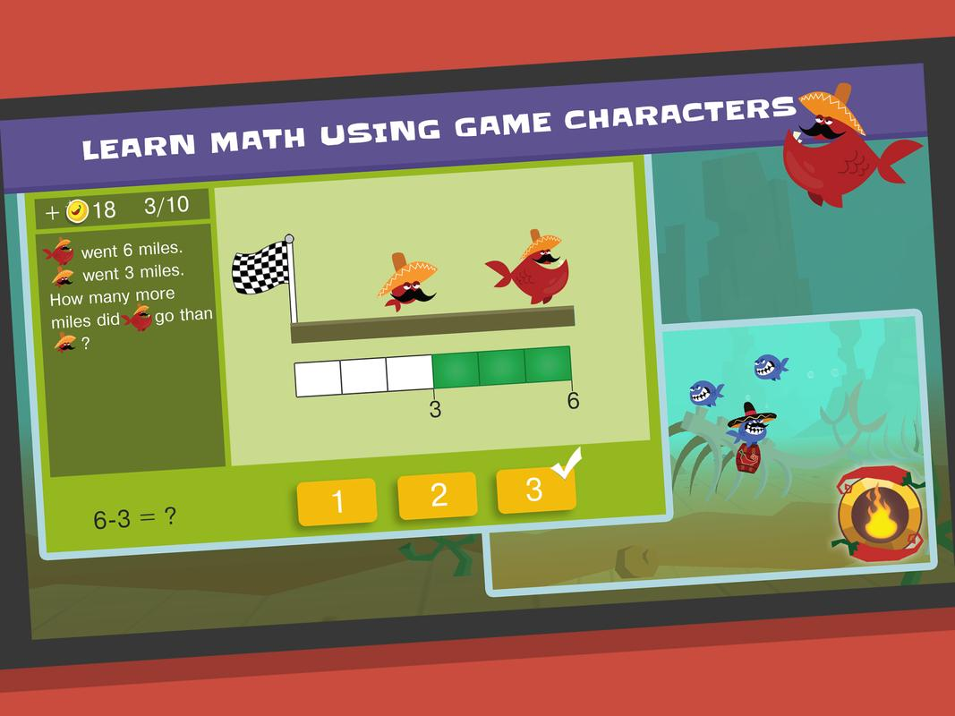 SKIDOS Chili Hunt: Mental Math Skill 3rd-5th Grade for Android - APK ...