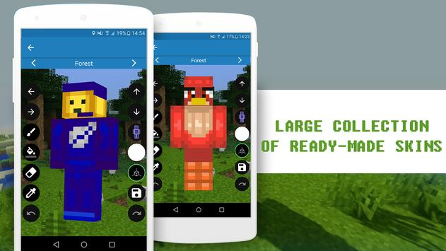 Skin Editor For Minecraft For Android APK Download - Skins para minecraft 1 8 4
