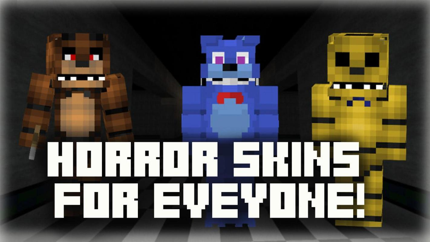 Skins Fnaf Fur Minecraft Pe Für Android APK Herunterladen - Skins fur minecraft herunterladen
