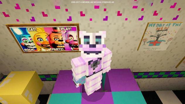 Horror Skin FNAF for MCPE screenshot 12