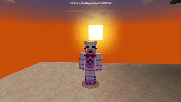Horror Skin FNAF for MCPE screenshot 8