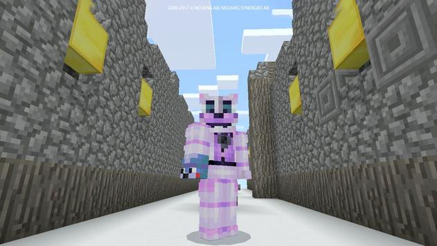 Horror Skin FNAF for MCPE screenshot 9