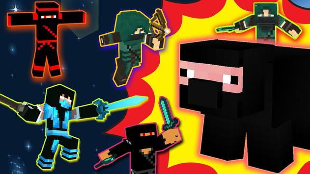 Ninja Skins for Minecraft apk screenshot