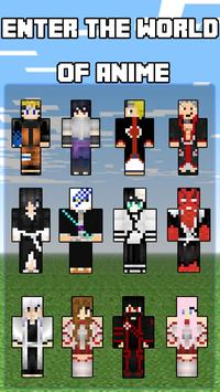 Anime Skins for Minecraft poster