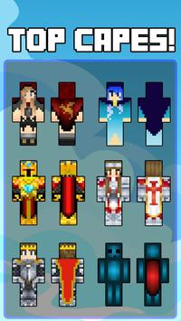 Skins capes for Minecraft poster