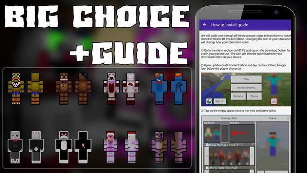 Skins FNAF For Minecraft APK Download Free Entertainment APP For - Freddie skins fur minecraft