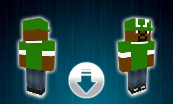 Skins Minecraft GTA SA apk screenshot