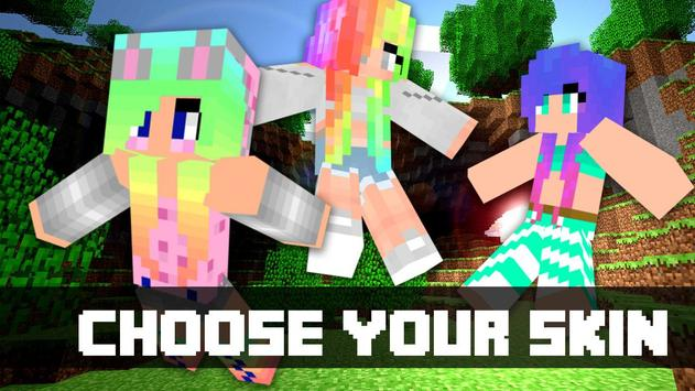 Kawaii Skins For MCPE For Android APK Download - Skin para minecraft pe kawaii