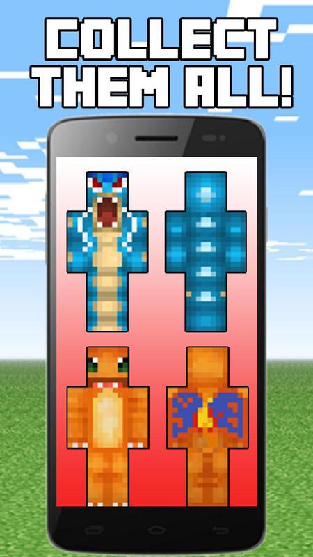 Skins Pixelmon For Minecraft APKDownload Kostenlos Unterhaltung - Wie installiert man skins fur minecraft