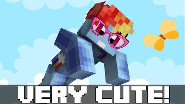 Skins Pony for Minecraft apk screenshot