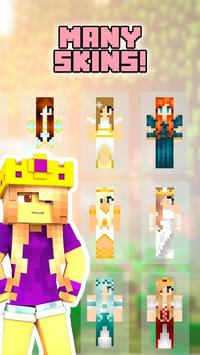Princess skins for minecraft apk screenshot
