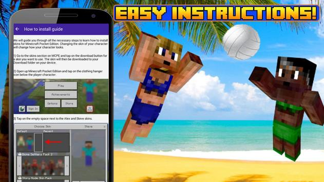Summer Skins For Mcpe Apk Download Free Tools App For Android