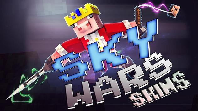 Skins Sky Wars for Minecraft poster
