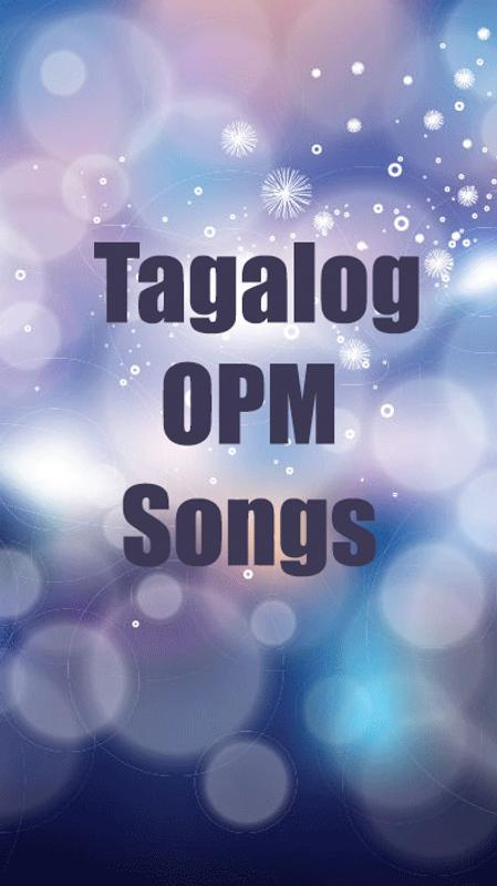 Tagalog, OPM Love Songs 2018 : Pinoy songs poster ...