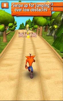 Bandicoot Adventure Game Crash screenshot 1
