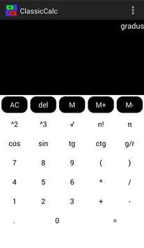 Classic Calc apk screenshot