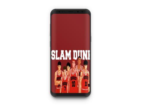 Slam Dunk Shohoku-Anime Wallpaper poster