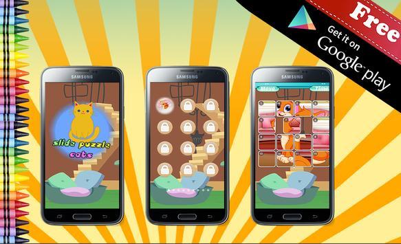Sliding Puzzle Cats apk screenshot