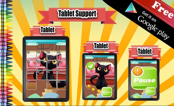 Sliding Puzzle Cats apk screenshot
