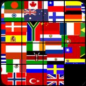 Sliding Puzzle Flags icon