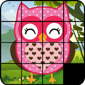 Sliding Puzzle Owls icon