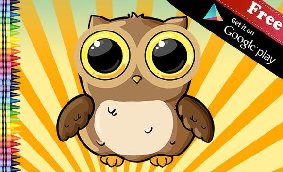 Sliding Puzzle Owls poster