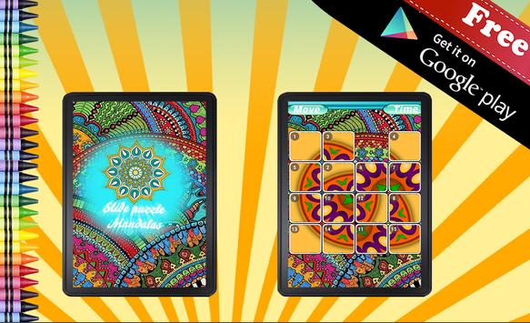 Sliding Puzzle Mandala apk screenshot