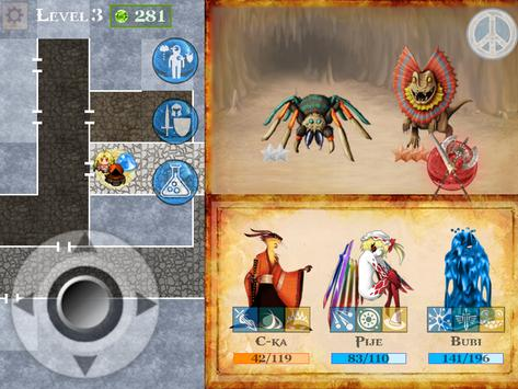 Ancient Cave RPG apk screenshot