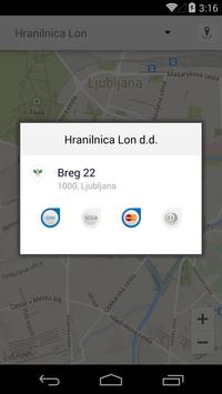 Bankomati Slovenije screenshot 1