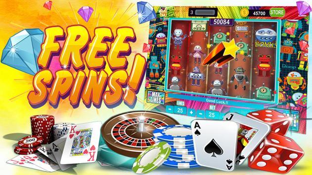 Mega Robots Slots – Free Vegas Machines poster