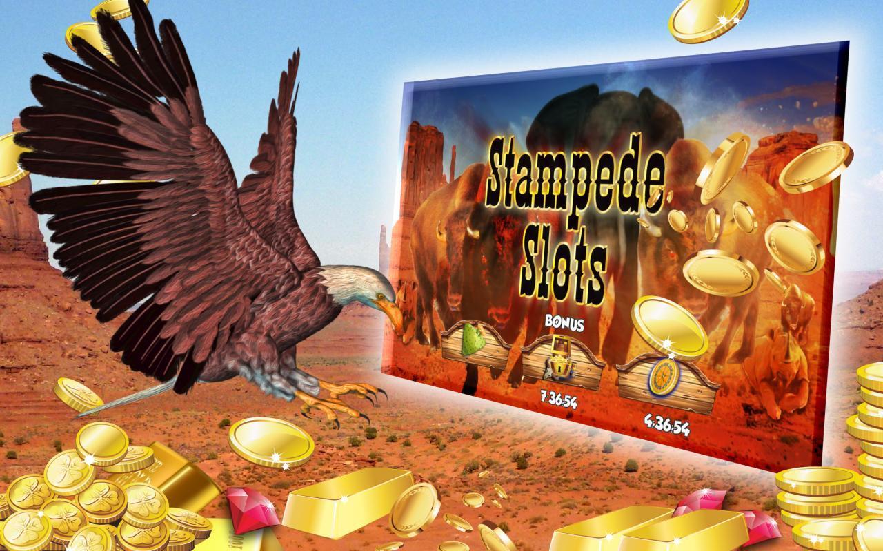 Slots Stampede poster