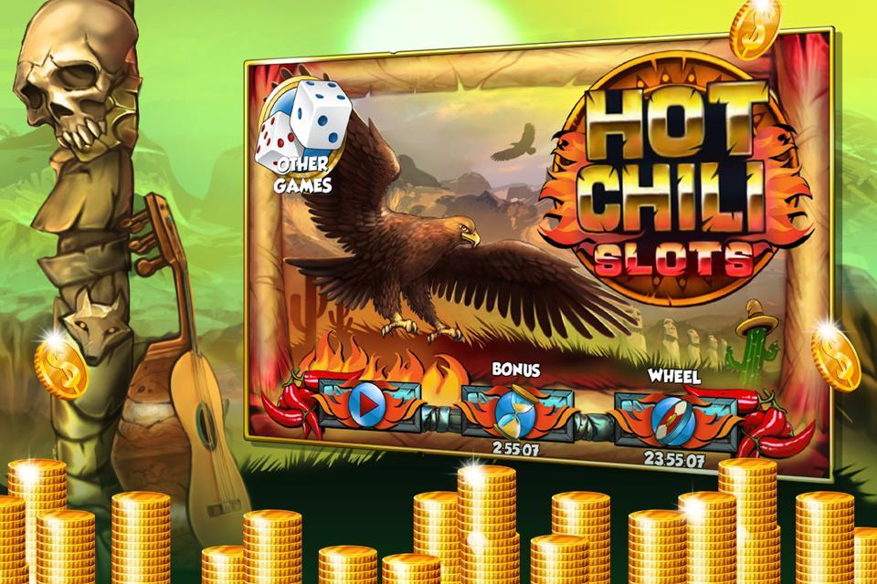 Hot Chili Slots poster