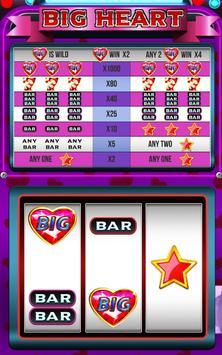 FREE Big Heart slot machine screenshot 4