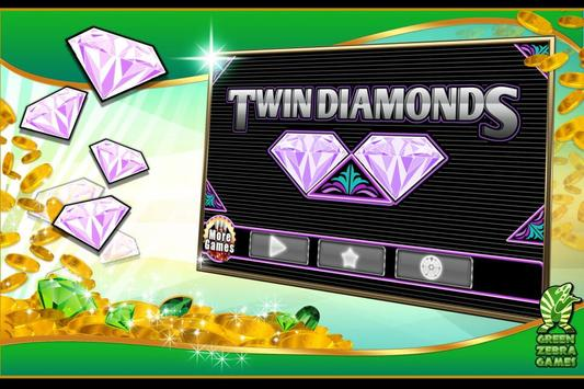 Twin Diamonds Slots screenshot 4