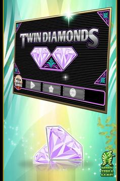 Twin Diamonds Slots poster