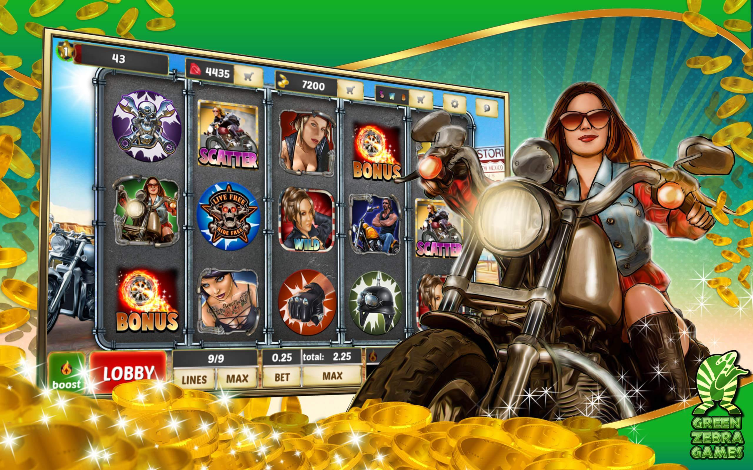 Application bikers gang slot machine online spinomenal tokens]