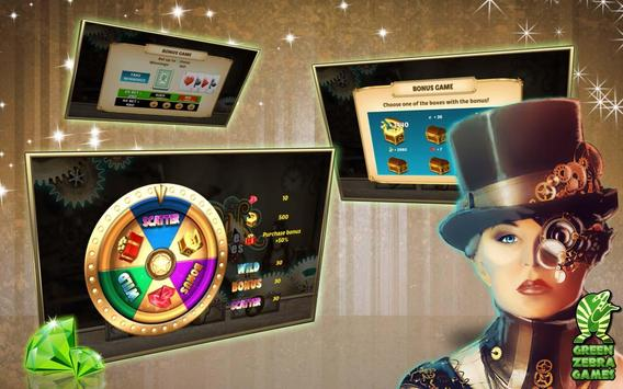 Free Casino: Steampunk Slots screenshot 4