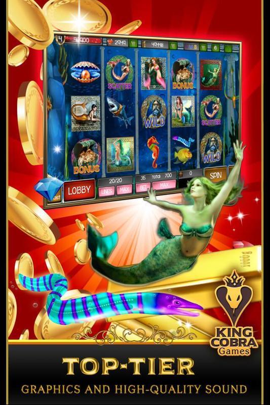 Slot king neptune online