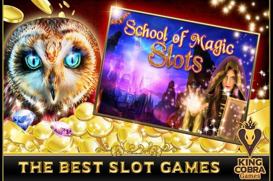 School of Magic Slots screenshot 4