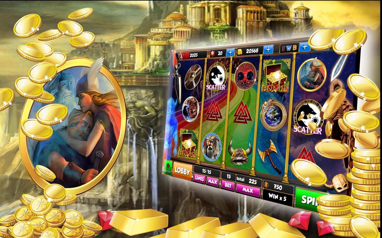 Slot machine odin