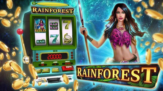 Rainforest Slot Game poster