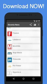 News Slovenia poster