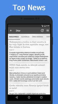 News Slovenia screenshot 2