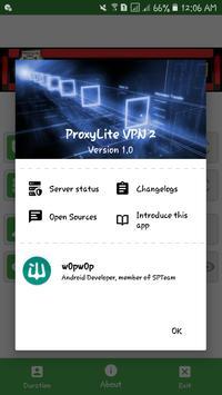 ProxyLite VPN 2 screenshot 1