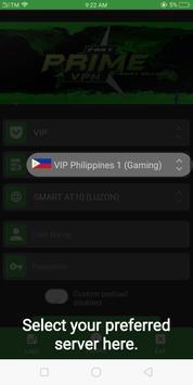 Prime VPN screenshot 2