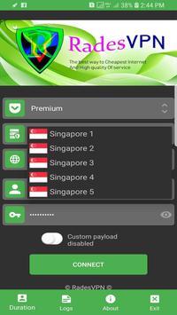 Rades VPN poster